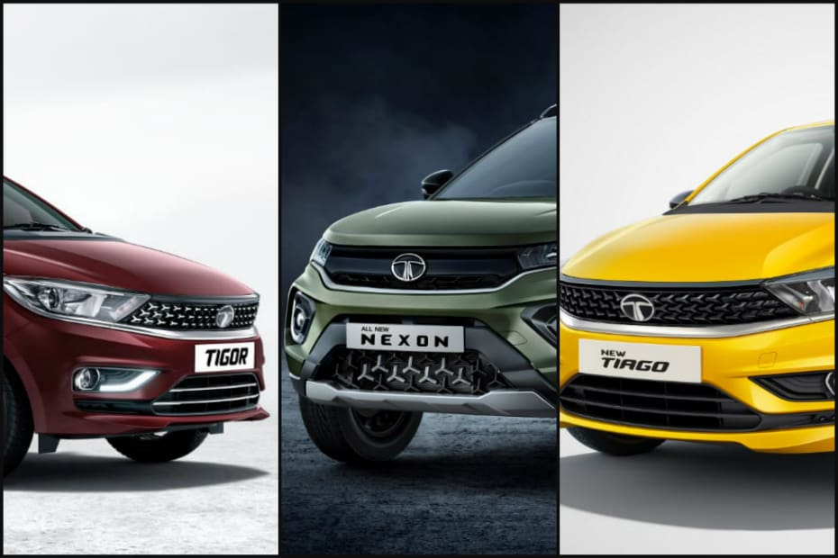 Tata Nexon, Tiago & Tigor Facelift Teased. Bookings Open