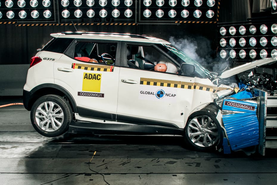 Mahindra XUV300 Scores Highest Score For An Indian Car In Global NCAP Crash Tests