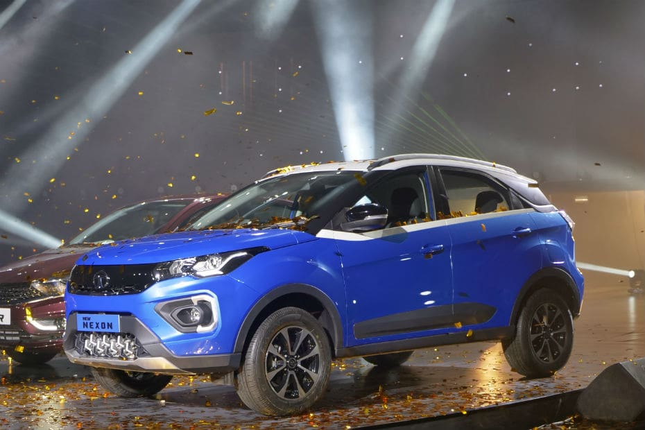 2020 Tata Nexon Facelift Launched With BS6 Engines At Rs 6.95 lakh