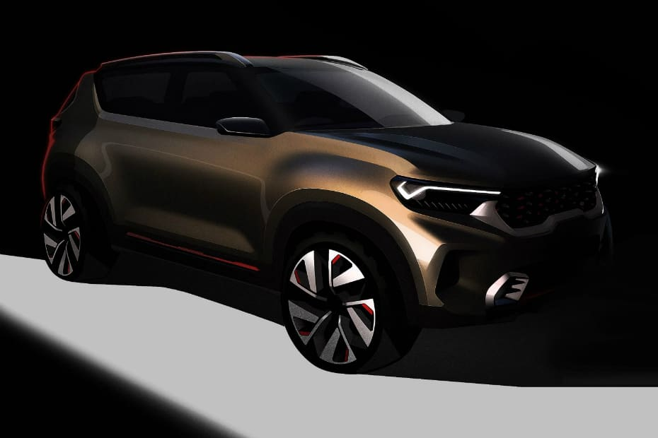 Kia QYI Teased In First Official Sketches