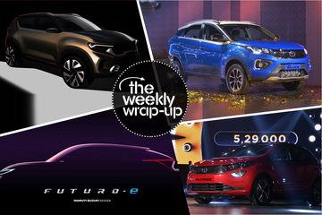 Top 5 Car News Of The Week: Maruti Futuro-E SUV, Tata Altroz, Tata Nexon Facelift and MG ZS EV Launched, and Kia QYI Teased