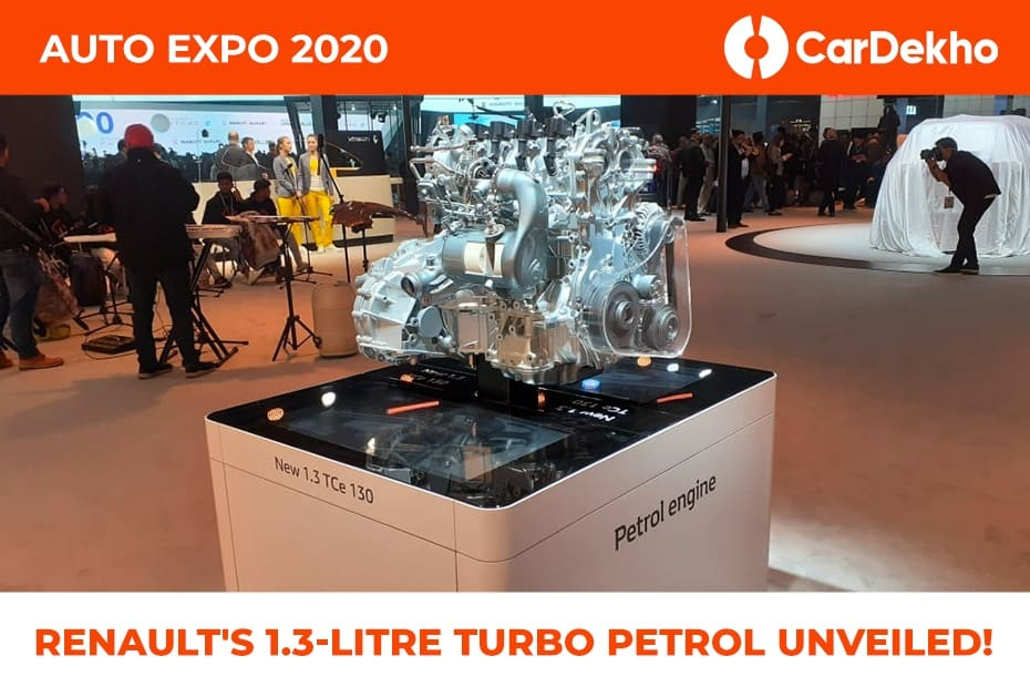 Renault 1.3-Litre Turbo-petrol Unveiled At Auto Expo 2020 As A Replacement For 1.5-litre Diesel