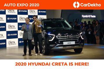 Second-gen Hyundai Creta Makes India-spec Debut At Auto Expo 2020, Will Launch In March
