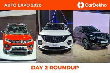 Auto Expo 2020: Day 2 Highlights
