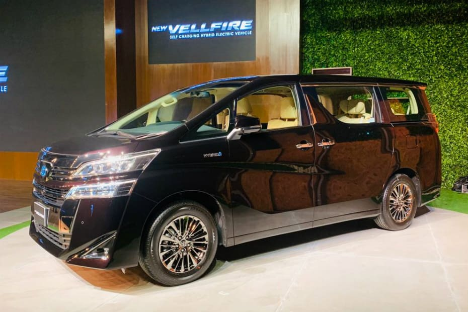 Toyota Vellfire Launched At Rs 79.50 Lakh