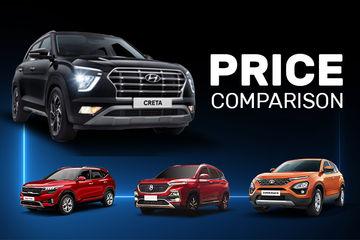 Hyundai Creta 2020 vs Rivals: What Do The Prices Say?