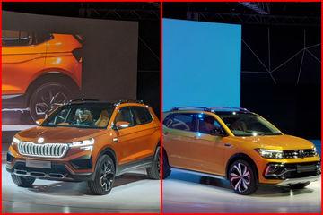స్కోడా-VW క్రెటా ప్రత్యర్థి DSG మరియు ఆటోమేటిక్ ఆప్షన్స్ రెండింటినీ అందించనున్నది