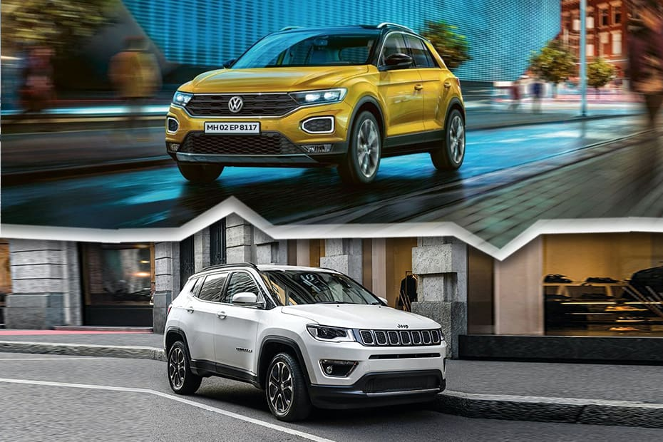 Volkswagen T-ROC vs Jeep Compass: Which SUV To Buy?