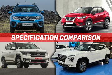 Hyundai Creta 2020 vs Kia Seltos vs Renault Duster vs Mahindra Scorpio vs Nissan Kicks: Specification Comparison