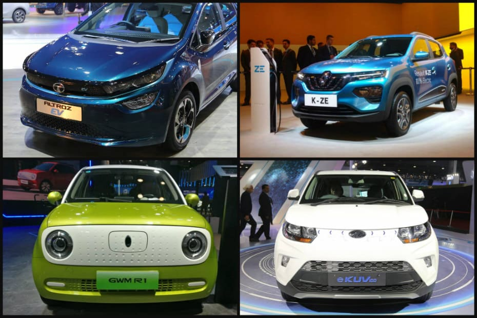 Upcoming Affordable EVs: Mahindra e-KUV100, Renault Kwid ZE, Tata Altroz & More