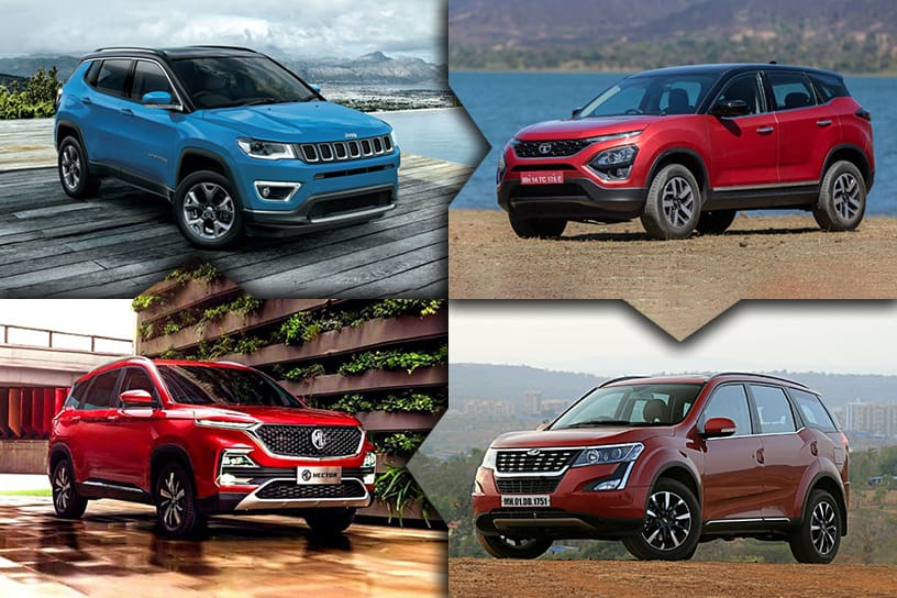 Coronavirus Affects March 2020 Sales Of MG Hector, Tata Harrier, Jeep Compass And Others