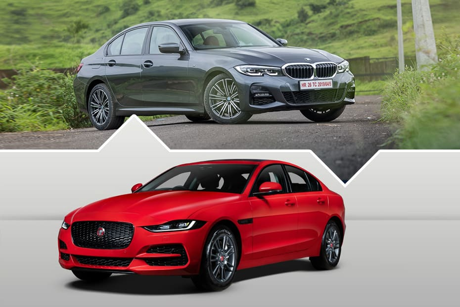 BMW 330i MSport vs Jaguar XE P250: Fun Small Luxury Sedan Shootout