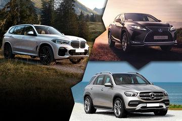 Lexus RX vs BMW X5 vs Mercedes-Benz GLE: Feature Wars
