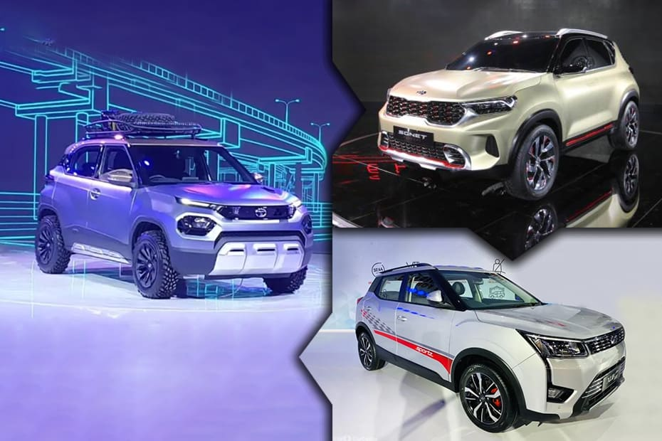 Top 6 Upcoming Sub-4m SUVs In The Next 6 Months