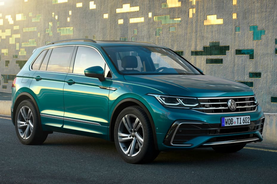 2021 Volkswagen Tiguan Facelift Officially Unveiled
