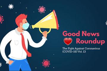 गुडन्यूज राउंडअप: कोरोना महामारी की इस लडाई में कहां तक सफल हुए हम, पढ़िए पॉजिटिव खबरों के वीकली डोज़ में..