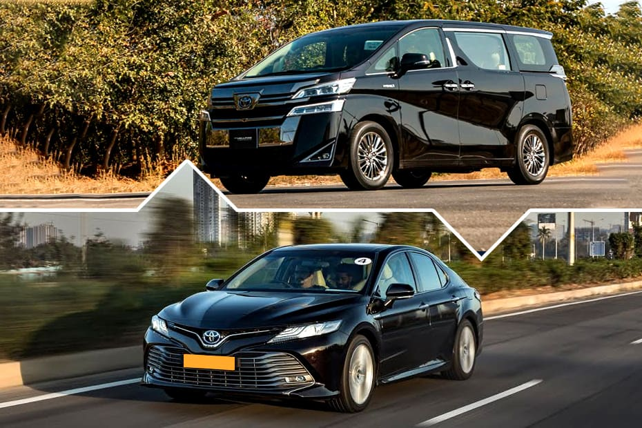 Toyota Camry, Vellfire Pricier By Up To Rs 4 Lakh