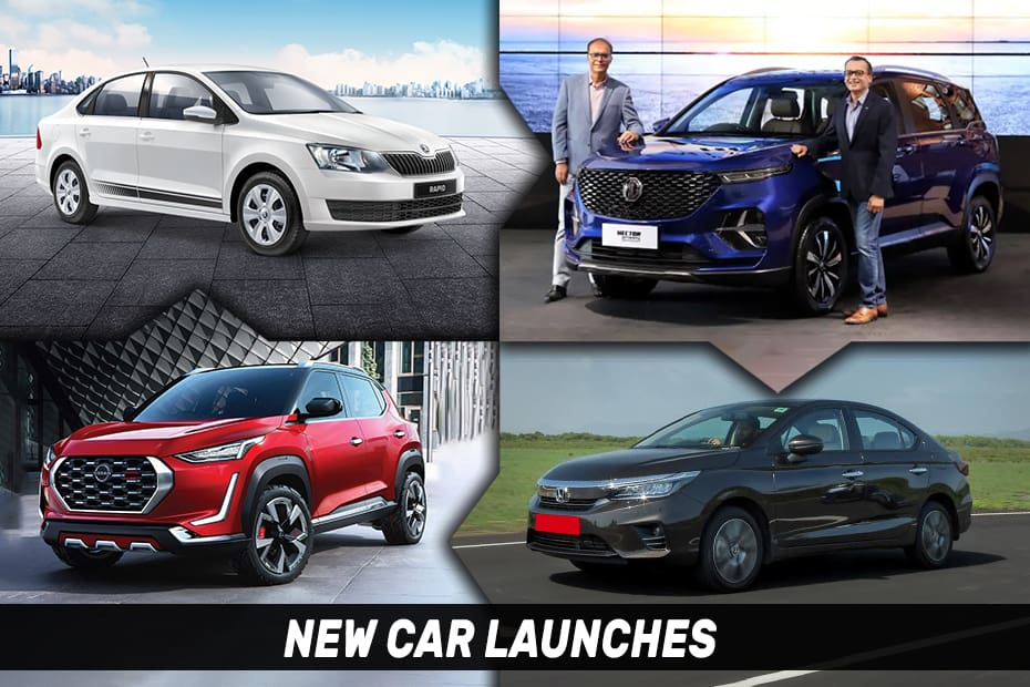 Carmakers Spring Back To Life With 6 New Launches Last Week