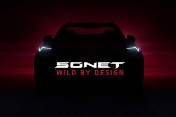 Kia Sonet Teased Again Ahead Of August 7 Debut