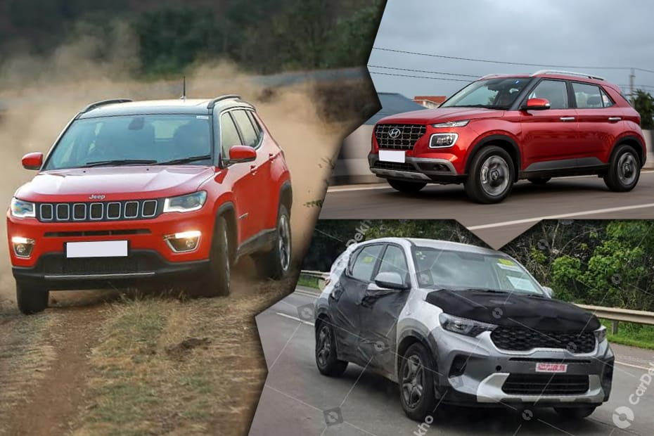 Car News That Mattered: Kia's Sonet Seen Clearly, Mahindra Thar Launch Confirmed, Hyundai Venue Gets A Clutchless Manual Transmission, And More