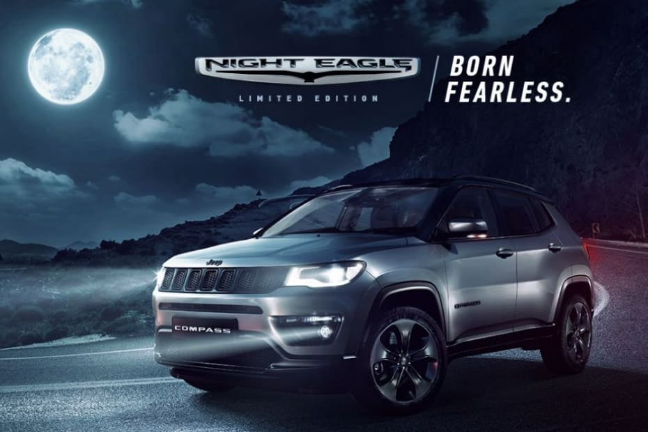 Jeep Compass Night Eagle Launched. Celebratory Limited Edition Starts At Rs 20.14 Lakh