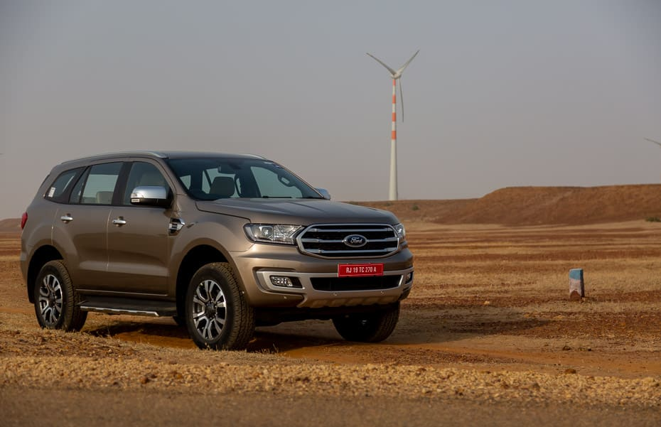 Ford Endeavour Prices Hiked By Up To Rs 1.20 Lakh