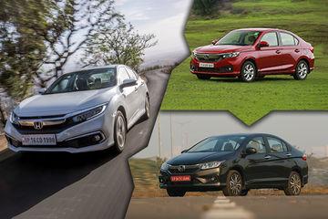 इस महीने होंडा दे रही है अपनी सेडान कारों पर 2.50 लाख रुपये तक की छूट