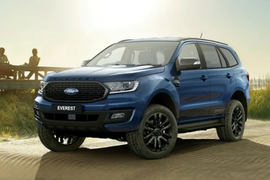 Ford Endeavour Sport Variant Spied In India. Launch Soon?
