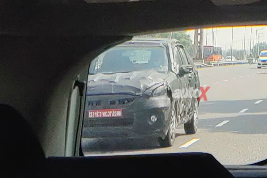 Second-gen Maruti Celerio Front Profile Spied For The First Time