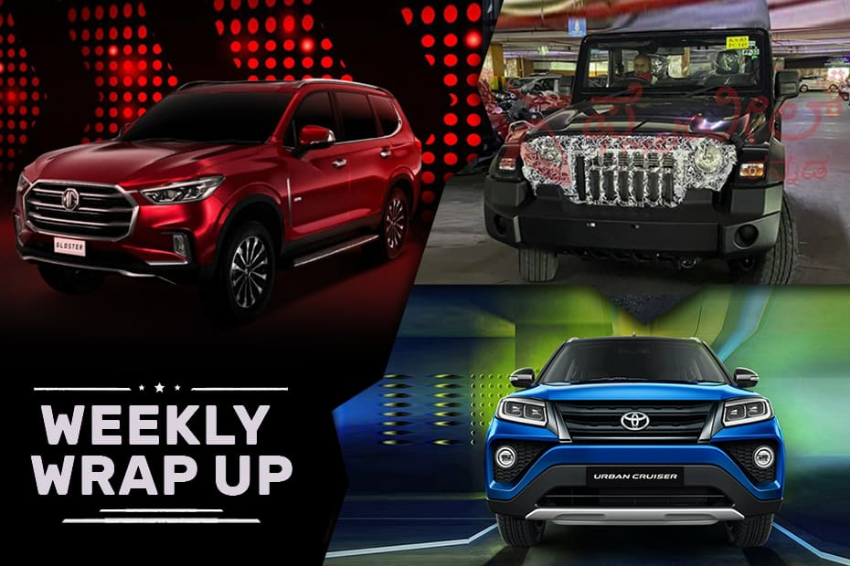 Cars News That Mattered: Toyota Urban Cruiser And Ford Endeavour Sport Launched, MG Gloster Revealed, Kia Sonet GTX+ Automatic Prices Out And More