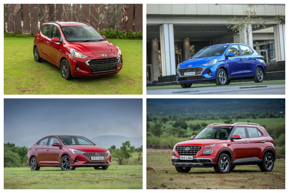Hyundai Santro, Grand i10 Nios, Aura, Venue And Others Get Dearer By Up To Rs 8,000
