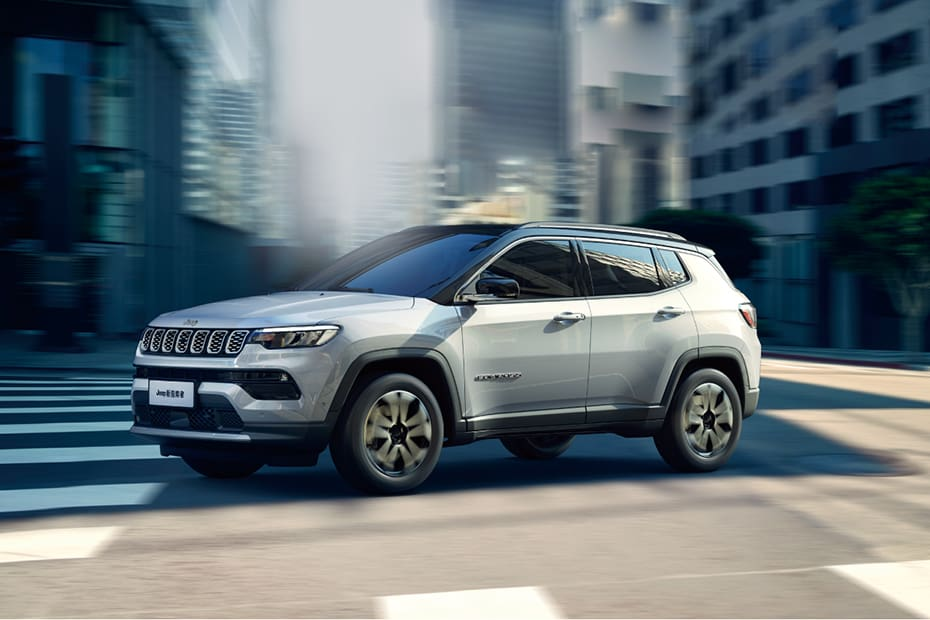 India-bound Jeep Compass Facelift Officially Revealed