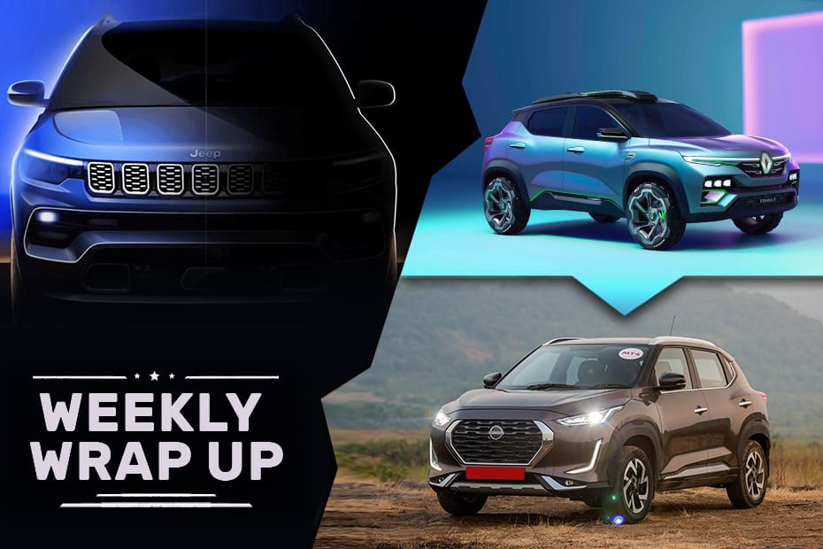Car News That Mattered: Renault Kiger Concept Revealed, Jeep Compass Facelift Teased, Magnite Launch Confirmed And More