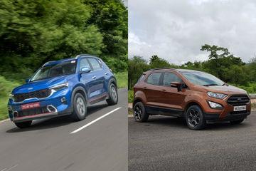 Kia Sonet vs Ford EcoSport: Which Sub-4m SUV To Buy?