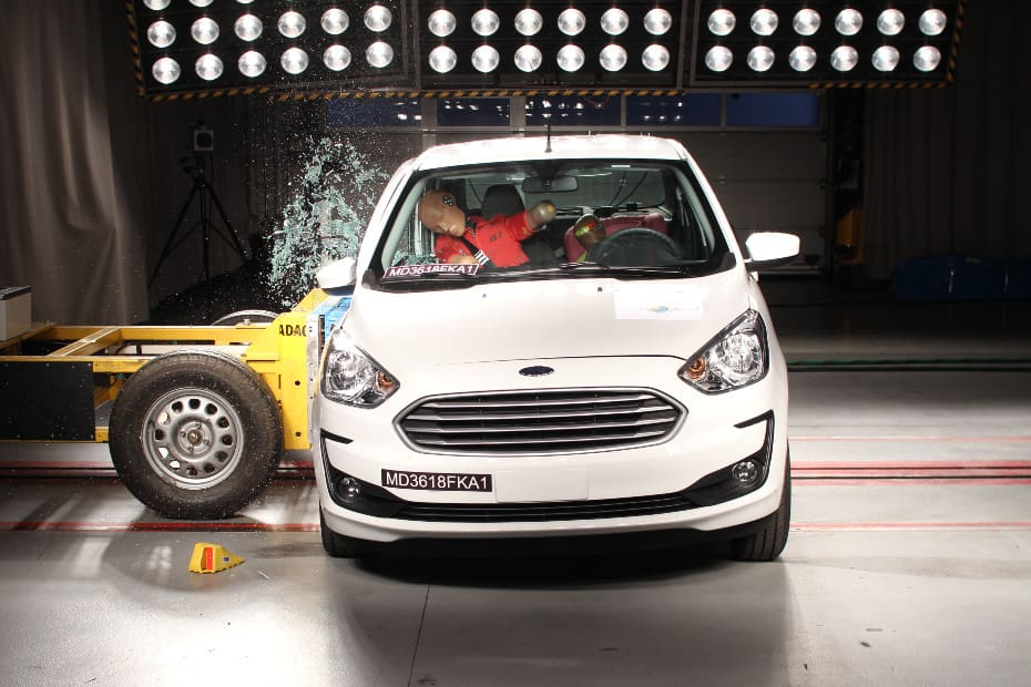 Made-in-Brazil Ford Aspire Scores 0 Stars In Updated Latin NCAP Tests