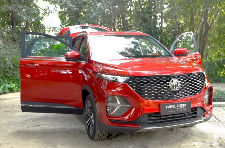 MG Hector Plus 7-seater Launched From Rs 13.34 lakh