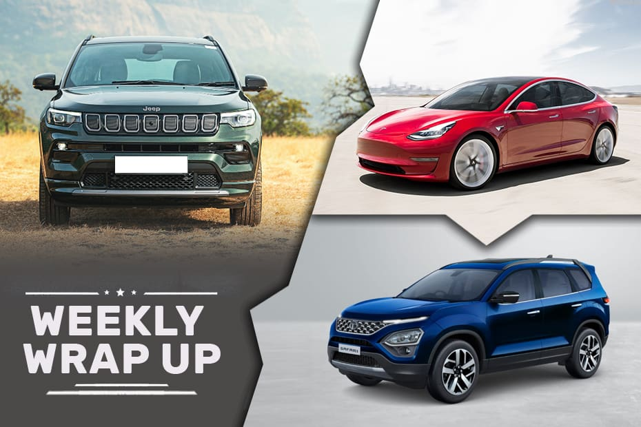 Cars News That Mattered: 2021 Jeep Compass, Tata Safari And Altroz Turbo Unveiled And More