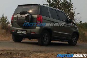 महिंद्रा टीयूवी300 फेसलिफ्ट टीवी शूट के दौरान आई नज़र, बोलेरो नियो बैजिंग के साथ दिखी ये कार