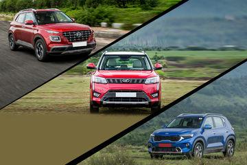 Hyundai's Venue At The Top, Maruti Vitara Brezza And Kia Sonet Ranked Second And Third In January 2021 Sales