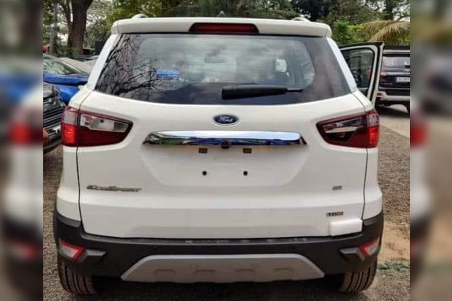 Ford EcoSport To Get An Update In The Coming Days. Will The Spare Wheel Go?