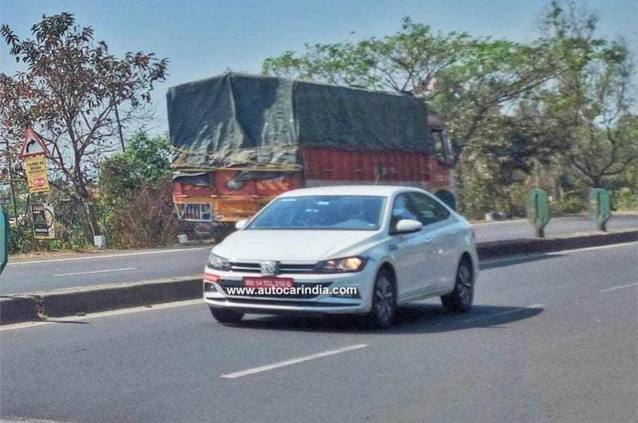 Volkswagen Virtus Spied In India; Could Be A Successor To The Vento