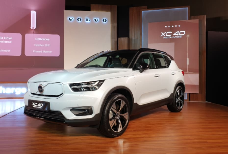 Volvo XC40 Recharge Electric SUV Launch In October 2021
