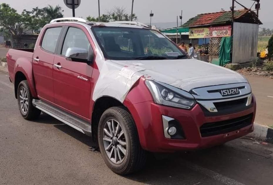 BS6 Isuzu D-Max V-Cross Interior And Exterior Spied: No Major Difference Spotted