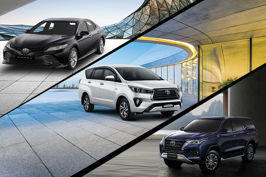 Select Toyota Models Get Costlier By Up to Rs 1.18 Lakh