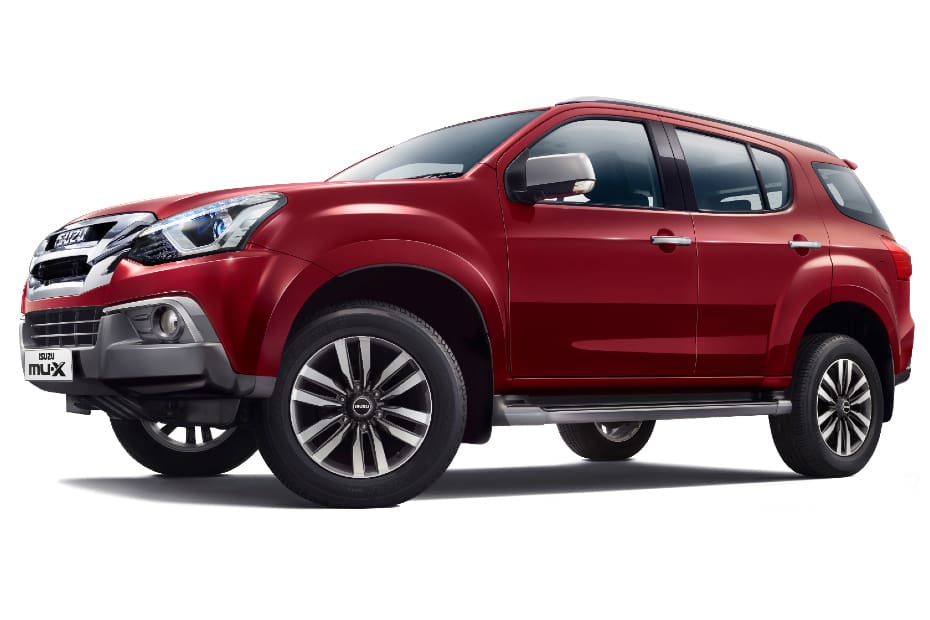 BS6 Isuzu mu-X Launched At Rs 33.23 Lakh, Pricier Entry Point Than Toyota Fortuner And Ford Endeavour