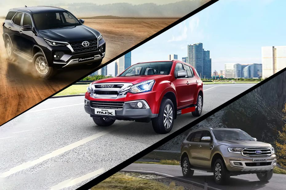 2021 Isuzu mu-X Pricing: How Does It Fare Against Toyota Fortuner, Ford Endeavour, MG Gloster, And Mahindra Alturas G4?
