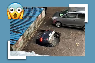हुंडई वेन्यू कार हादसा: वीडियो में देखें कैसे कुएं से बाहर निकाली गई ये गाड़ी