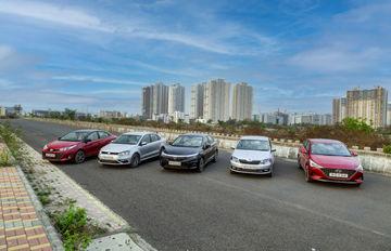 Blinding Lights: Skoda Rapid vs Volkswagen Vento vs Toyota Yaris vs Hyundai Verna vs Honda City - Headlamp Performance Compared