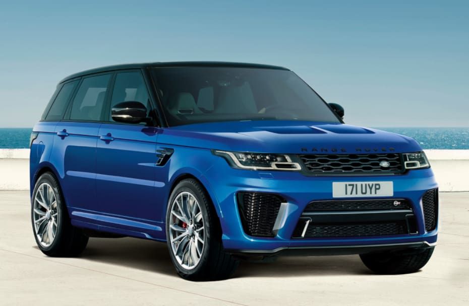 Performance-focused Range Rover Sport SVR V8 Petrol Launched In India