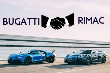 Bugatti And Rimac Form New Venture For The Electrified Future